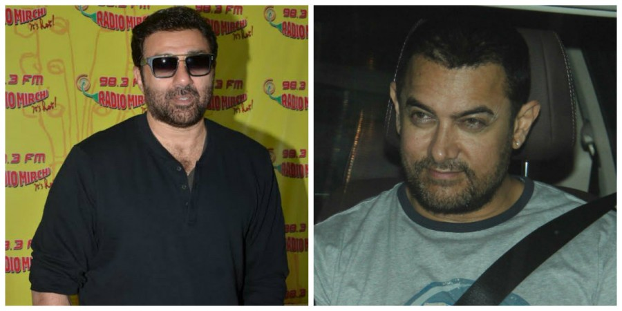 Sunny Deol and Aamir Khan
