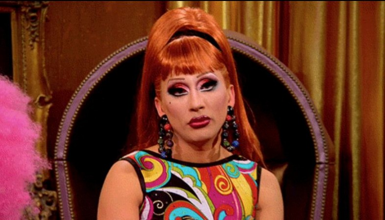 Bianca del Rio is unimpressed