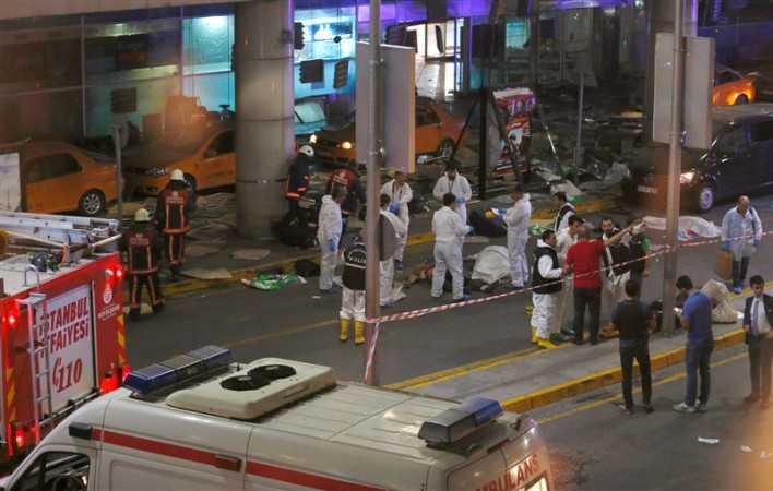 Bomb attack on Istanbul's Ataturk international airport