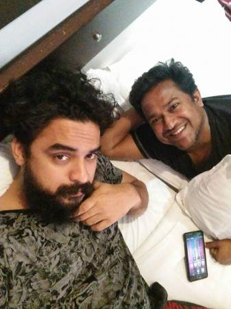 Tovino Thomas with Roopesh Peethambaran