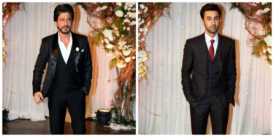 Shah Rukh Khan and Ranbir Kapoor