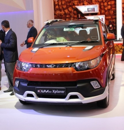 Mahindra KUV100 Xplorer Edition launched