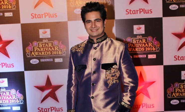 "Karan Mehra to return on ""Yeh Rishta Kya Kehlata Hai."" Pictured: ""Yeh Rishta Kya Kehlata Hai"" actor Karan Mehra aka Naitik at  Star Parivaar Awards 2016."