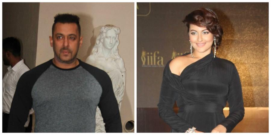 Salman Khan and Sonakshi Sinha