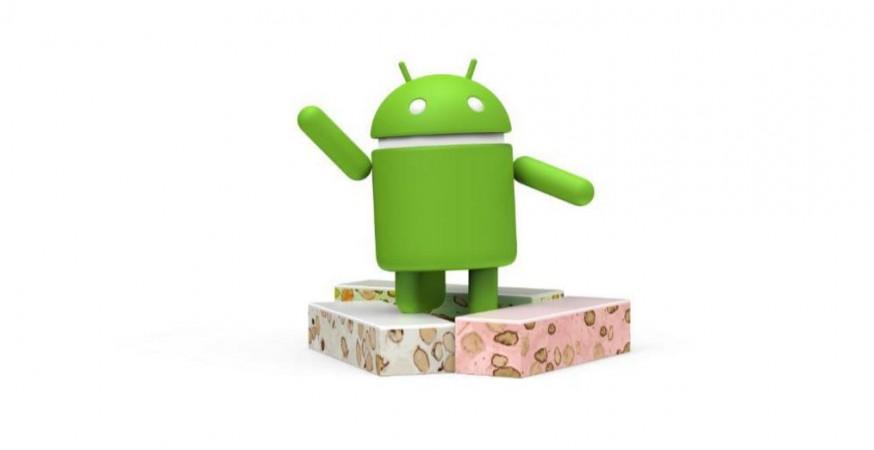 Android Nougat logo