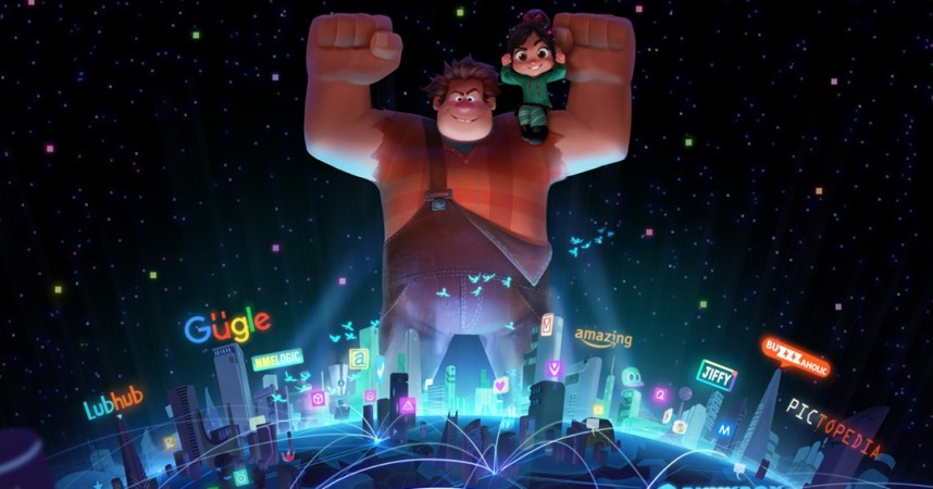 Concept art for 'Wreck-It Ralph 2'
