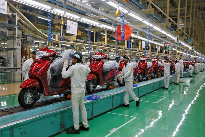 pmi june orders export domestic factory output manufacturing activity rise growth spurt pmi india