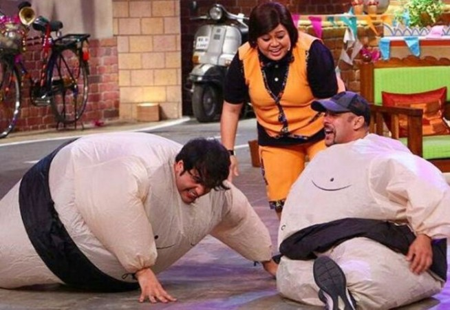 Salman Khan on 'Comedy Nights Live'