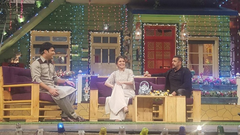 Salman Khan, Anushka Sharma on 'The Kapil Sharma Show'