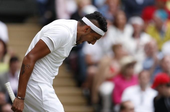 Nick Kyrgios Wimbledon