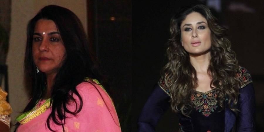 Amrita Singh and Kareena Kapoor Khan