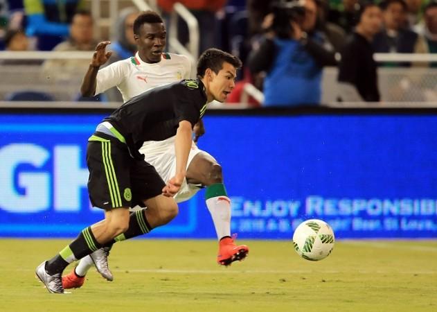 Hirving Lozano Mexico Elimane Oumar Cisse Senegal