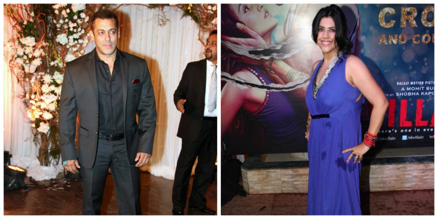 Salman Khan and Ekta Kapoor