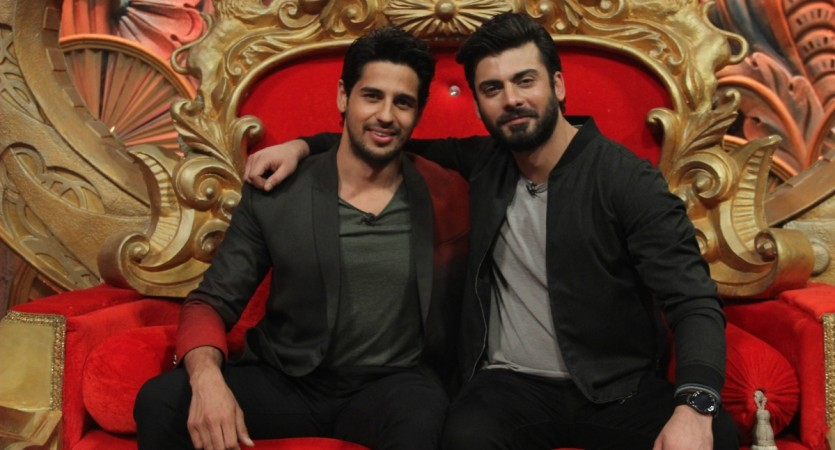 Sidharth Malhotra and Fawad Khan