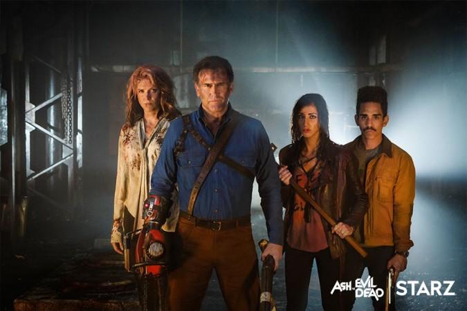 Ash and his friends in 'Ash vs Evil Dead.'
