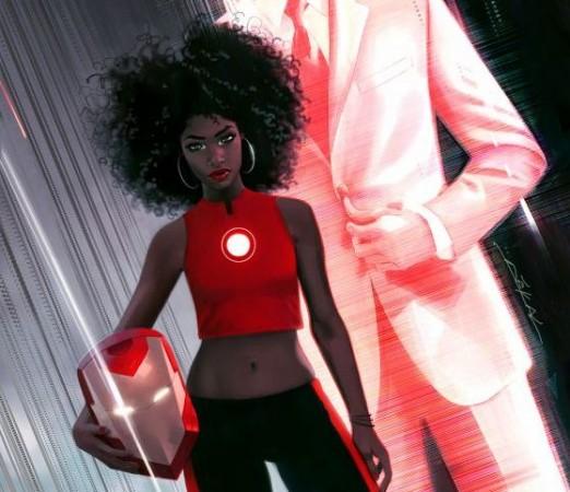 Riri Williams as Iron Man