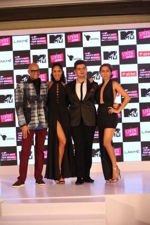 India's Next Top Model jury