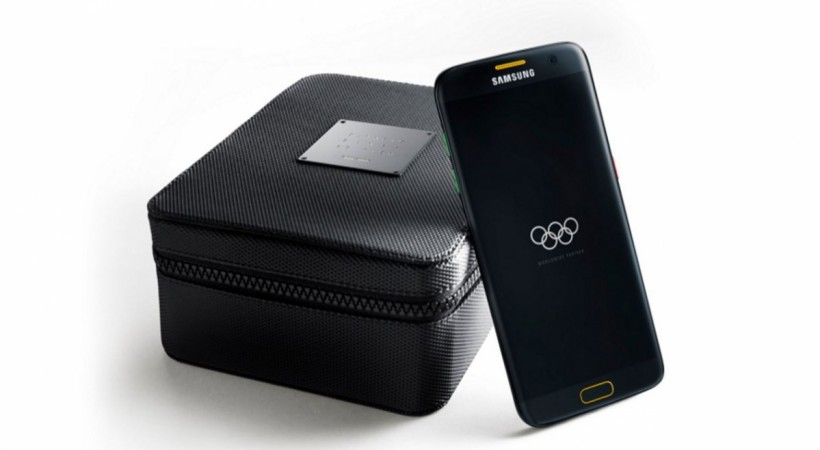 Samsung unveils special Galaxy S7 edge Olympic Games Limited Edition