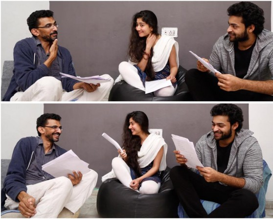 Sai Pallavi with Sekhar Kammula and Varun Tej
