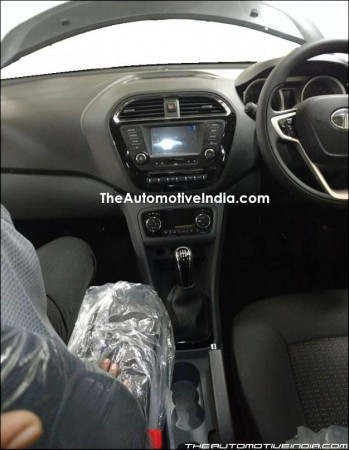 Tata Kite 5 compact sedan interiors revealed in new spy shots