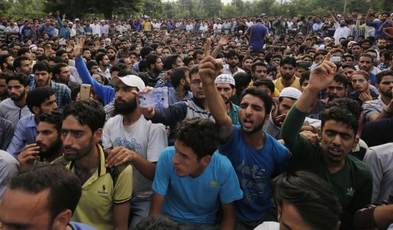 wani kashmir pai kashmir encounter militancy anantnag pulwama militancy J&K india army terror valley protests firing clashes