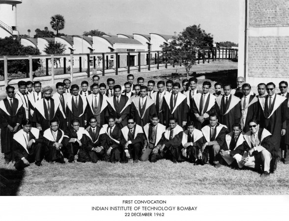 The first convocation of IIT-Bombay in 1962.