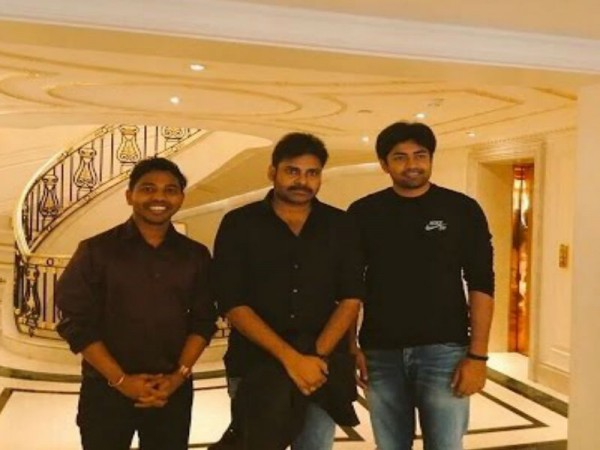 Pawan Kalyan with NRI Fans at UKTA