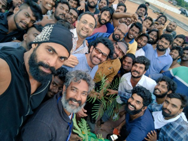 Baahubali team plants saplings