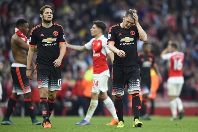 Daley Blind Bastian Schweinsteiger Manchester United