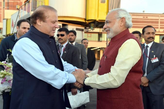 modi sharif nawaz india pakistan kashmir wani pervez musharraf refrain lay off relations terror
