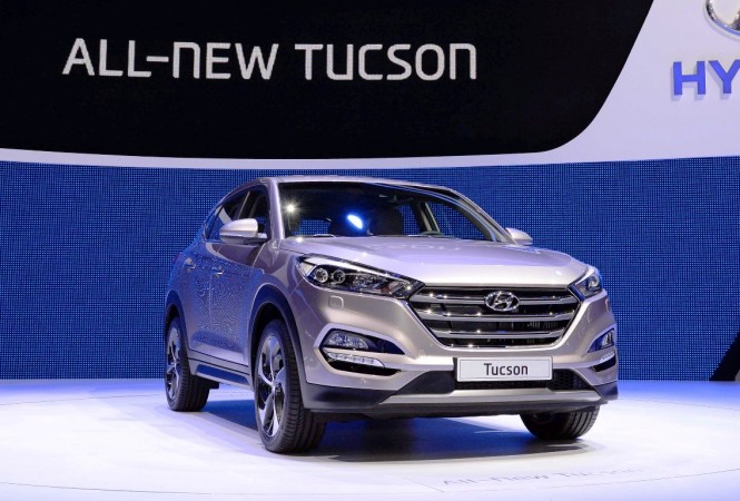 hyundai tucson suv launch in india likely by october end report. Black Bedroom Furniture Sets. Home Design Ideas
