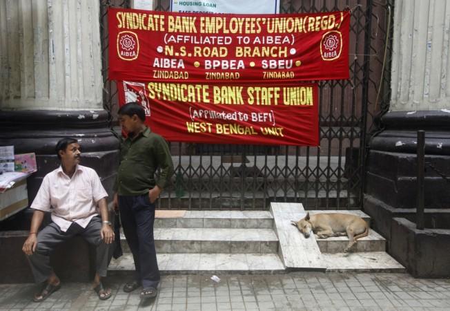 Bank Employees strike