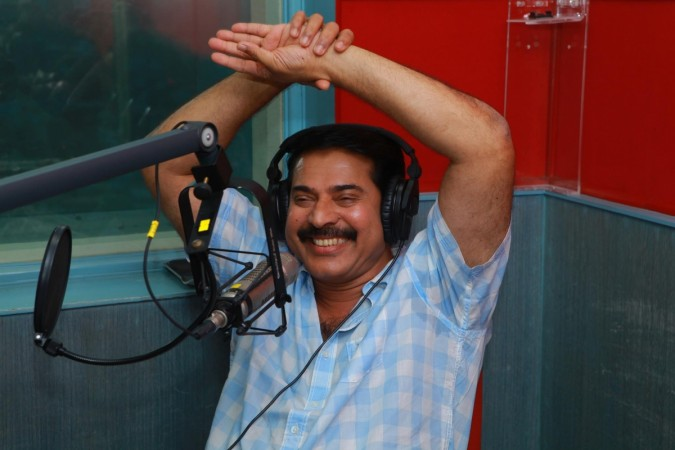 Mammootty at Club FM station [file picture]