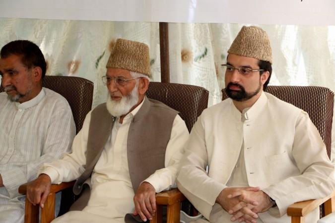 hurriyat leader mirwaiz farooq aphc separatist burhan wani j&k terror pakistan syed ali shah geelani