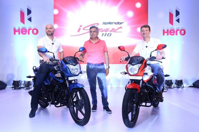 Hero Splendor iSmart 110, first in-house developed motorcycle launched
