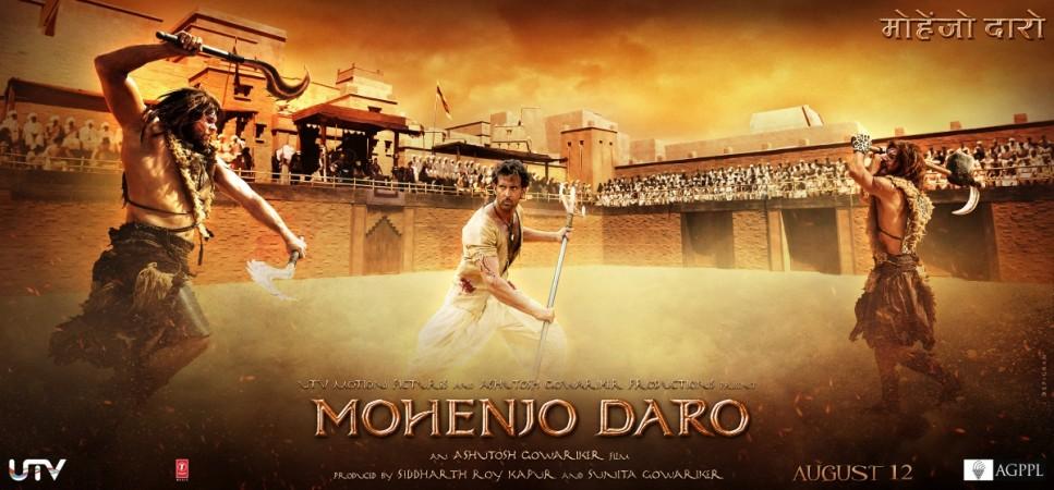 Mohenjo Daro action poster