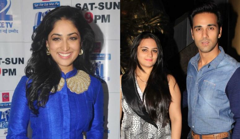 Yami Gautam, Shweta Rohira and Pulkit Samrat
