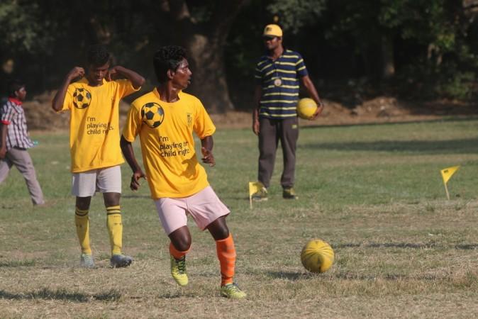 cry india football