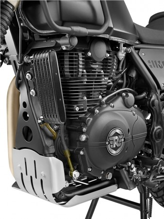 [Representational image] Royal Enfield 750cc motorcycle spied testing. Pictured: Royal Enfield Oil Cooler, Sump Guard and Engine