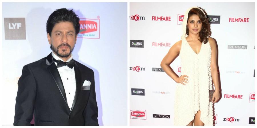 Shah Rukh Khan and Priyanka Chopra