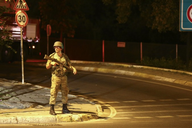 Military Coup in Turkey 1