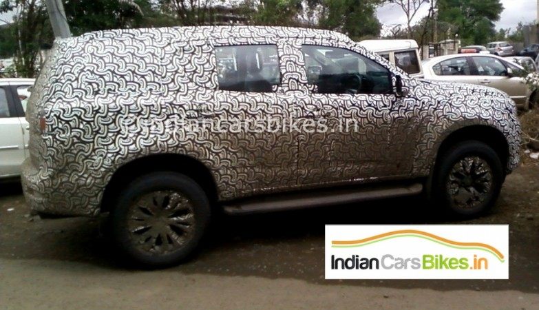 New Chevrolet Trailblazer is expected to be launched in the country during the festive season this year.