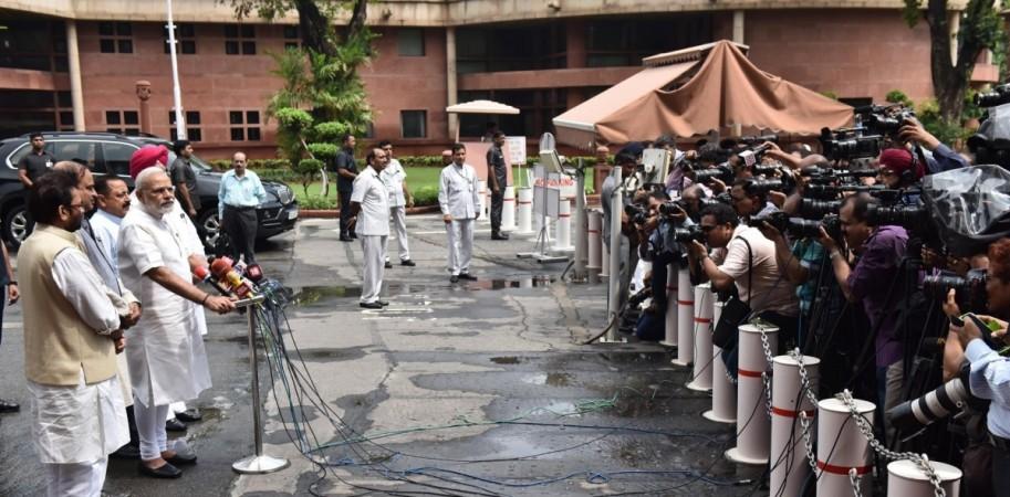 Modi Parliament