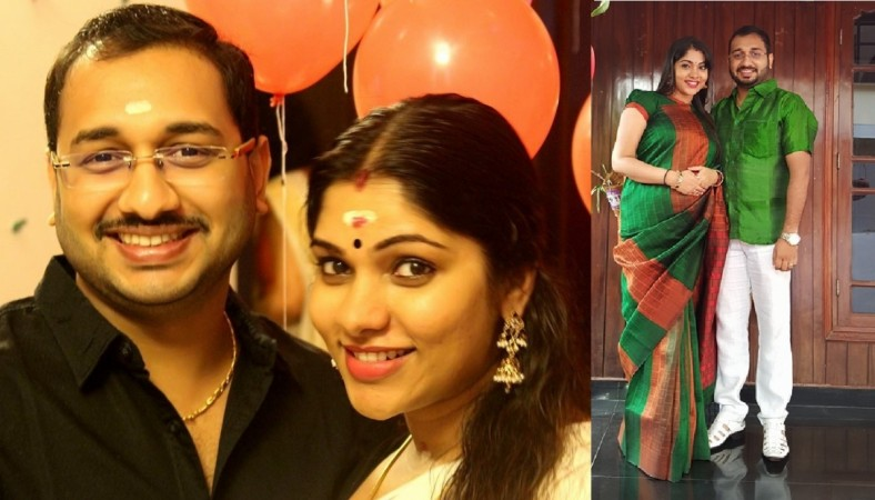 Muktha and Rinku Tomy blessed with baby girl