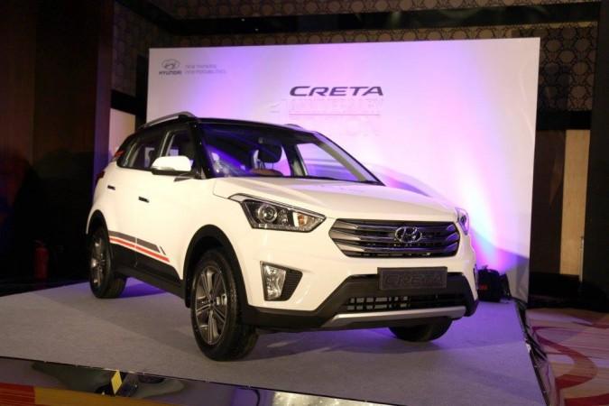 Hyundai Creta 1st anniversary edition