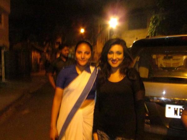 Bengali actress Puja Aich
