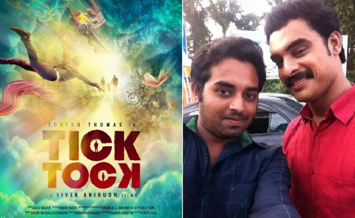 Tovino Thomas' 'Tick Tock' first-look poster