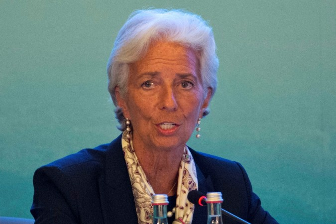 Christine Lagarde IMF chief