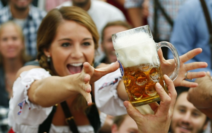 munich shootout oktoberfest beer festival 2016 1810 bavaria indian companies india inc bavaria infosys wipro reddy