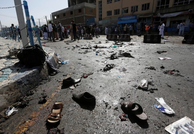 20 killed as car bomb hits bank in South Afghanistan